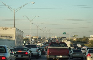 Dallas Evening Rush Hour Traffic (Photo: Justin Cozart)