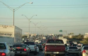 Dallas Evening Rush Hour Traffic (Photo: Justin Cozart)