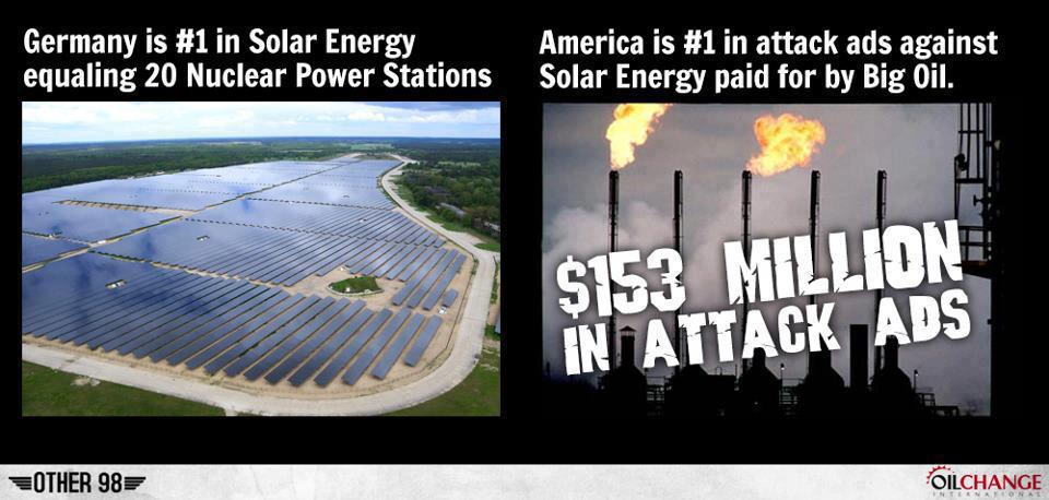 solar vs oil | ... Hate Americans