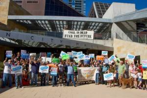 Austinites call for City Council to move beyond coal